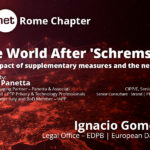 IAPP Rome Chapter con Ignacio Gomez Navarro (EDPB) per il post Schrems II